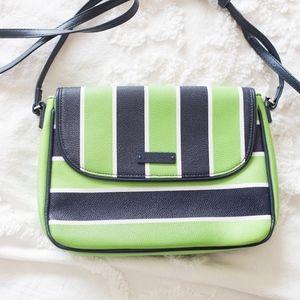 Vera Bradley striped crossbody purse